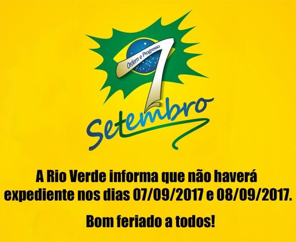 Feriado da Independencia!