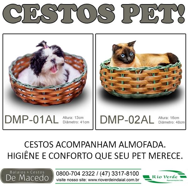 Cestos Pet - De Macedo