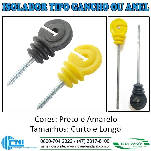 Isolador Tipo Gancho/Anel - CNI Isoladores