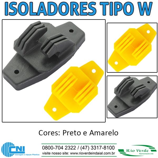 Isolador tipo W - CNI Plásticos
