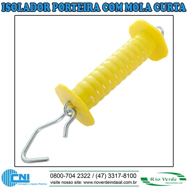 isolador tipo Porteira Curta - CNI Plásticos