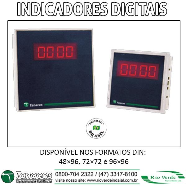 Indicadores Digitais - Tanacas Equipamentos Eletrônicos