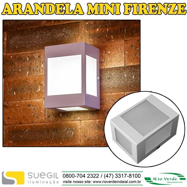 Arandela Mini Firenze - Suegil Iluminação