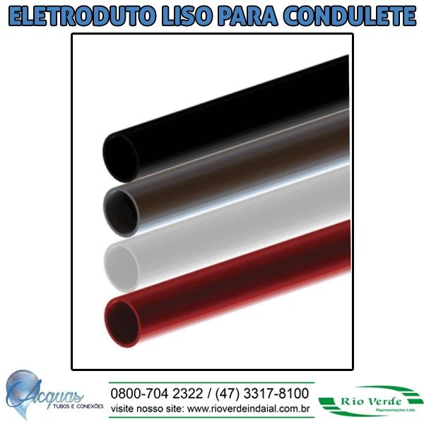 Eletroduto Liso para Condulete - Acquas Tubos e Conexões