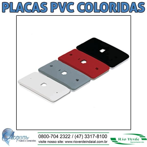 Placas PVC Coloridas - Acquas Tubos e Conexões