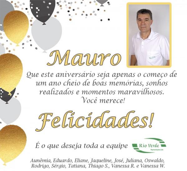Feliz Aniversário Mauro!