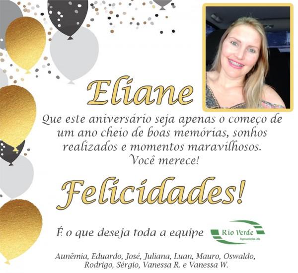 Feliz Aniversário Eliane!