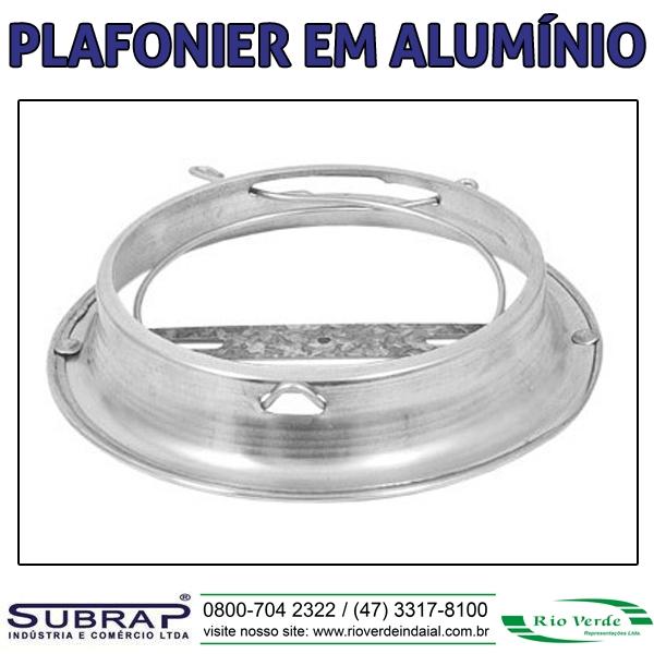 Plafonier Alumínio - Subrap