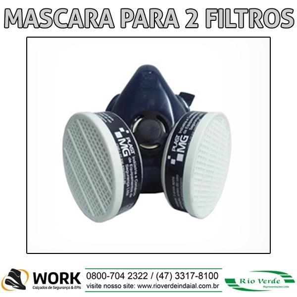 Mascara para 2 Filtros