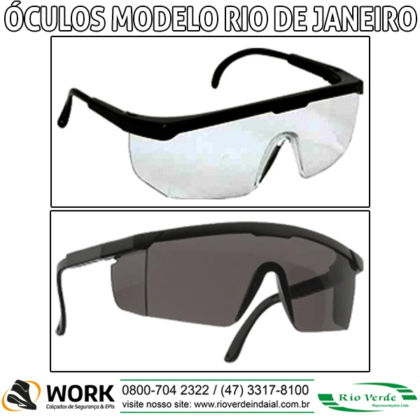 Óculos Modelo RJ - Work Calçados e Epi's