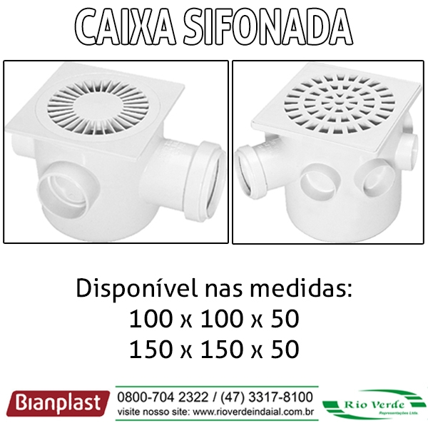 Caixa Sifonada - Bianplast