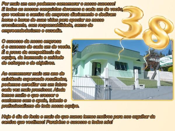 38 anos Rio Verde Representações