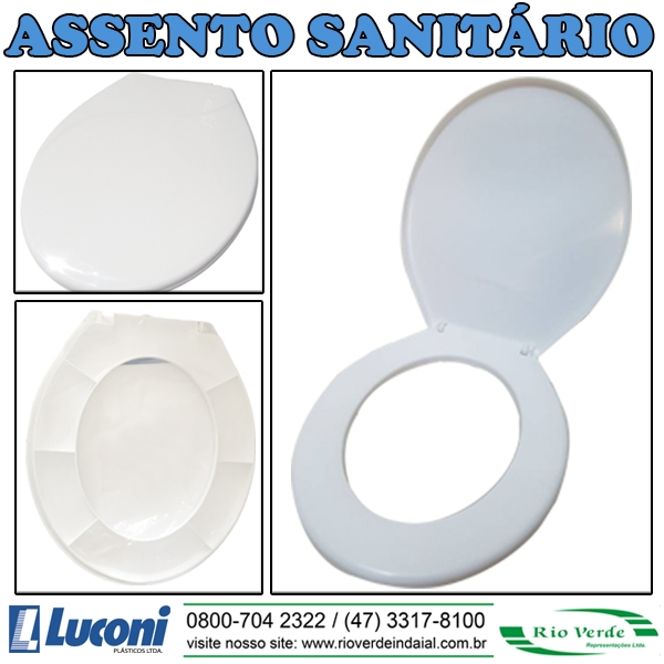 Assento Sanitário - Plásticos Luconi