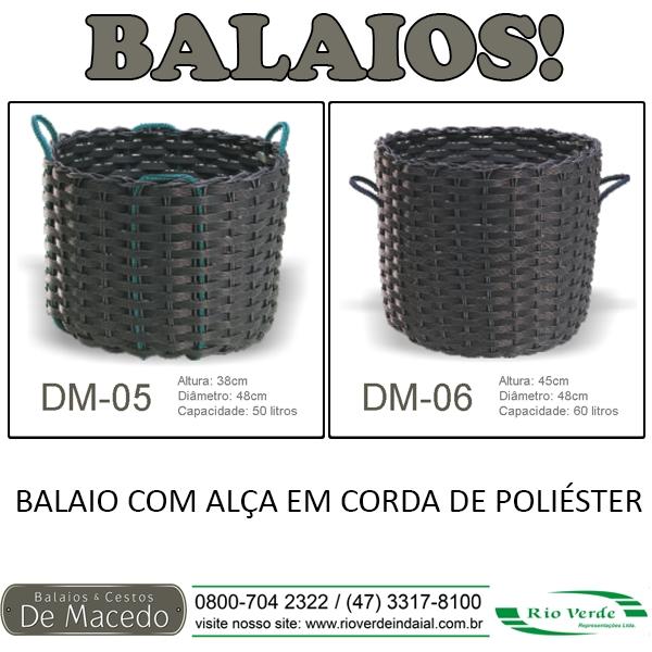 Balaios com Alça - De Macedo
