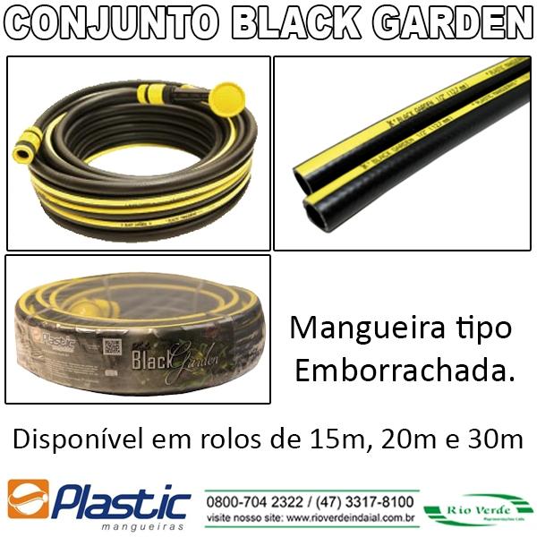 Mangueira Black Garden - Plastic Mangueiras