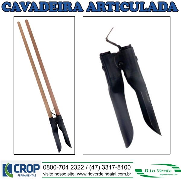Cavadeira Articulada - Crop Ferramentas