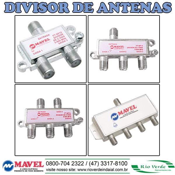 Divisor de Antenas - Mavel