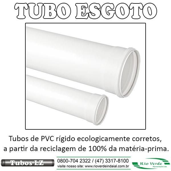 Tubos de Esgoto - Tubos LZ