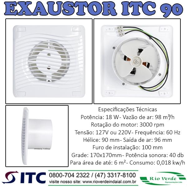 Exaustor ITC 90 - Exaustores ITC