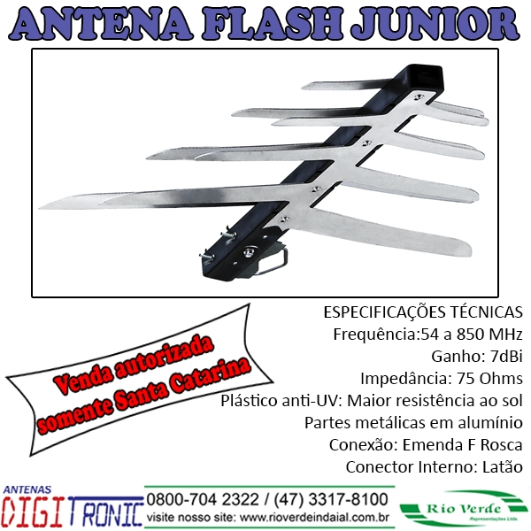 Antena Flash Junior - Digitronic