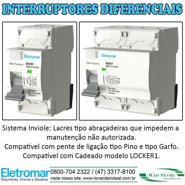 Interruptores Diferenciais - Mec-Tronic Eletromar