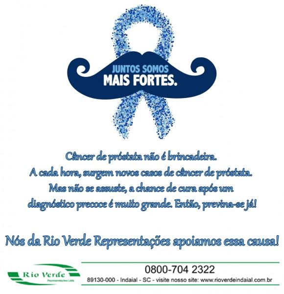Novembro Azul...nós apoiamos essa causa!