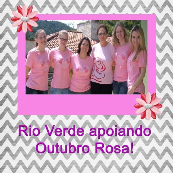 Rio Verde apoia Outubro Rosa