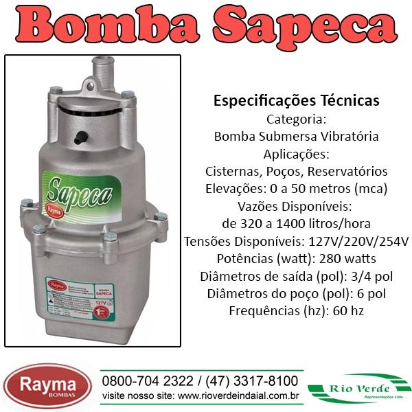 Bomba Sapeca - Rayma Bombas