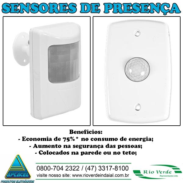Sensor de Presença - Aplacel