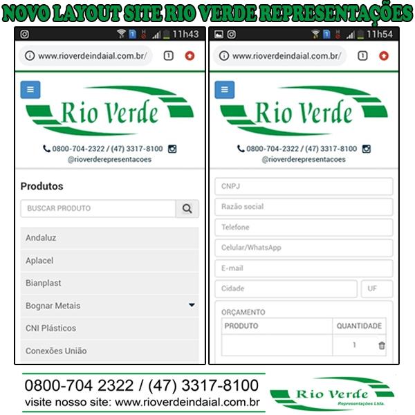 Novo site Rio Verde